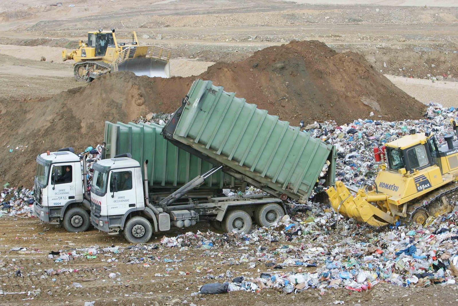 Από τον κρατικό προϋπολογισμό τα πρόστιμα 34,3 εκατ. για τις χωματερές