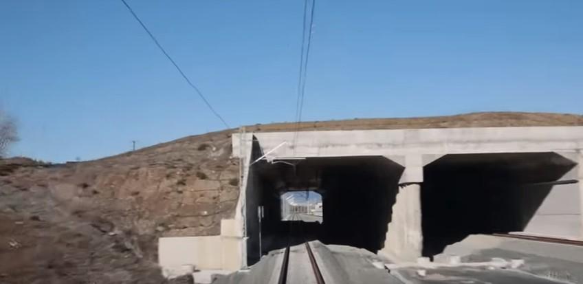 Η πρώτη επίσημη «βόλτα» του ηλεκτρικού τραίνου στη Σήραγγα Καλλιδρόμου