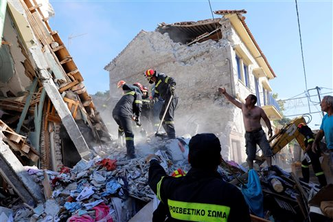 Ισχυρός σεισμός ανοιχτά της Λέσβου, ζημιές στο Πλωμάρι