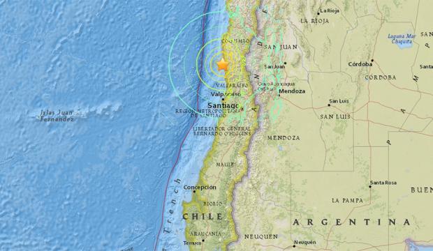 Σεισμός 8,3 Ρίχτερ στη Χιλή - Τσουνάμι προς τη Χαβάη