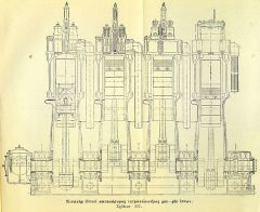 "diesel 017 Σχέδιο από το ""Κεφάλαιον έβδομον"" - Συμπιεσταί, αεροδόχοι, αντλίαι αποκαθάρσεως."