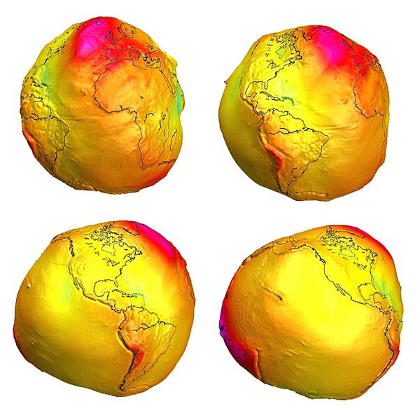 karto 001 Η γη είναι επίπεδη;Η γη είναι στρογγυλή σαν... ταψί;Η γη έχει το σχήμα σφαίρας;