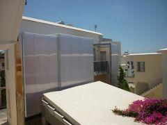 Συρόμενη οροφή και πλαγιοκάλυψη σε συνεργασία με το Αρχιτεκτονικό γραφείο Koutsoftides Architects