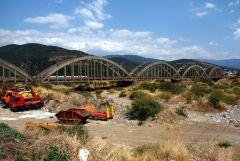 Τοξωτή Γέφυρα έξω από την Ναύπακτο