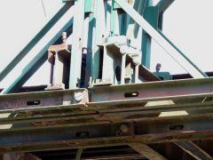 Γέφυρα belley στην Μπαλτούμα Ιωαννίνων. Λεπτομέρεια συνδέσεων.