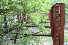 Παλιά γέφυρα (ξύλινου καταστρώματος) στην ορεινή Ναυπακτία. (Κάπου μεταξύ Άνω Χώρας και Αη Λιά)