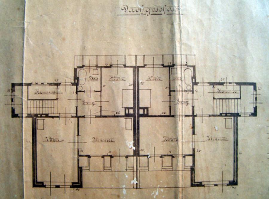 Villa Elisabeth 006 Κάτοψη Δώματος