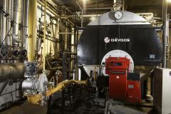 Ατμολέβητας φυσικού αερίου σε εργοστάσιο εμφιάλωσης στην Θεσσαλονίκη